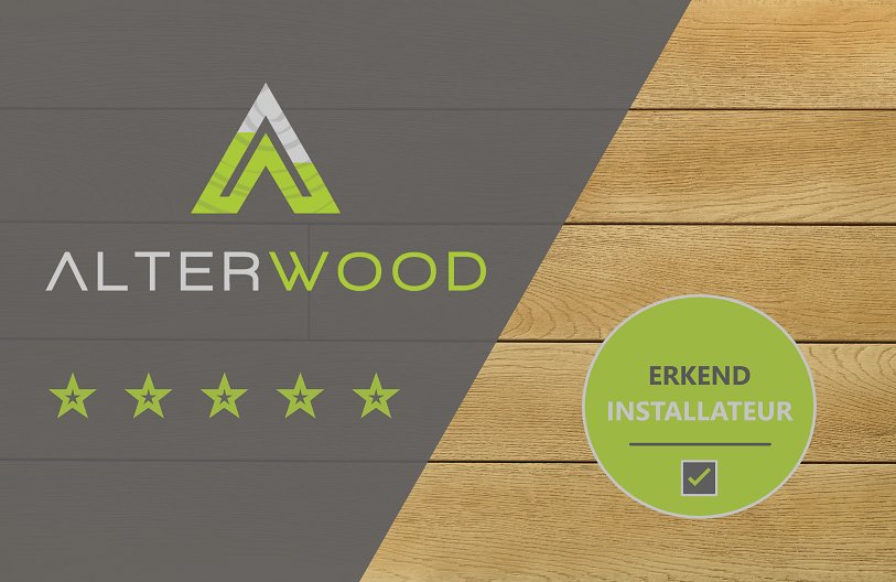 AlterWood - Erkend installateur
